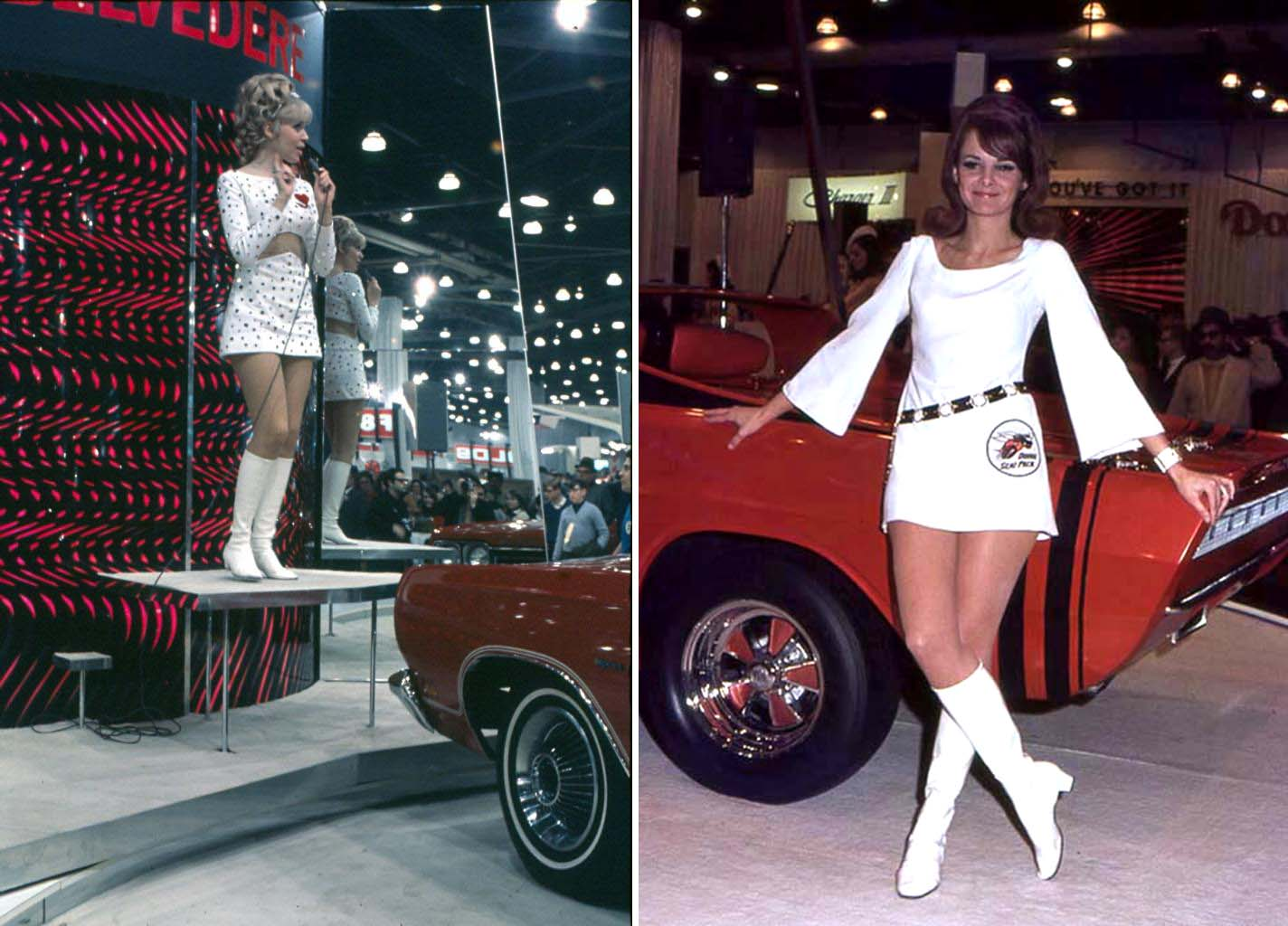 Sirens Of Chrome: The Fabulous Models Of Vintage Auto